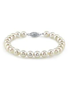Akoya White Pearl Bracelet