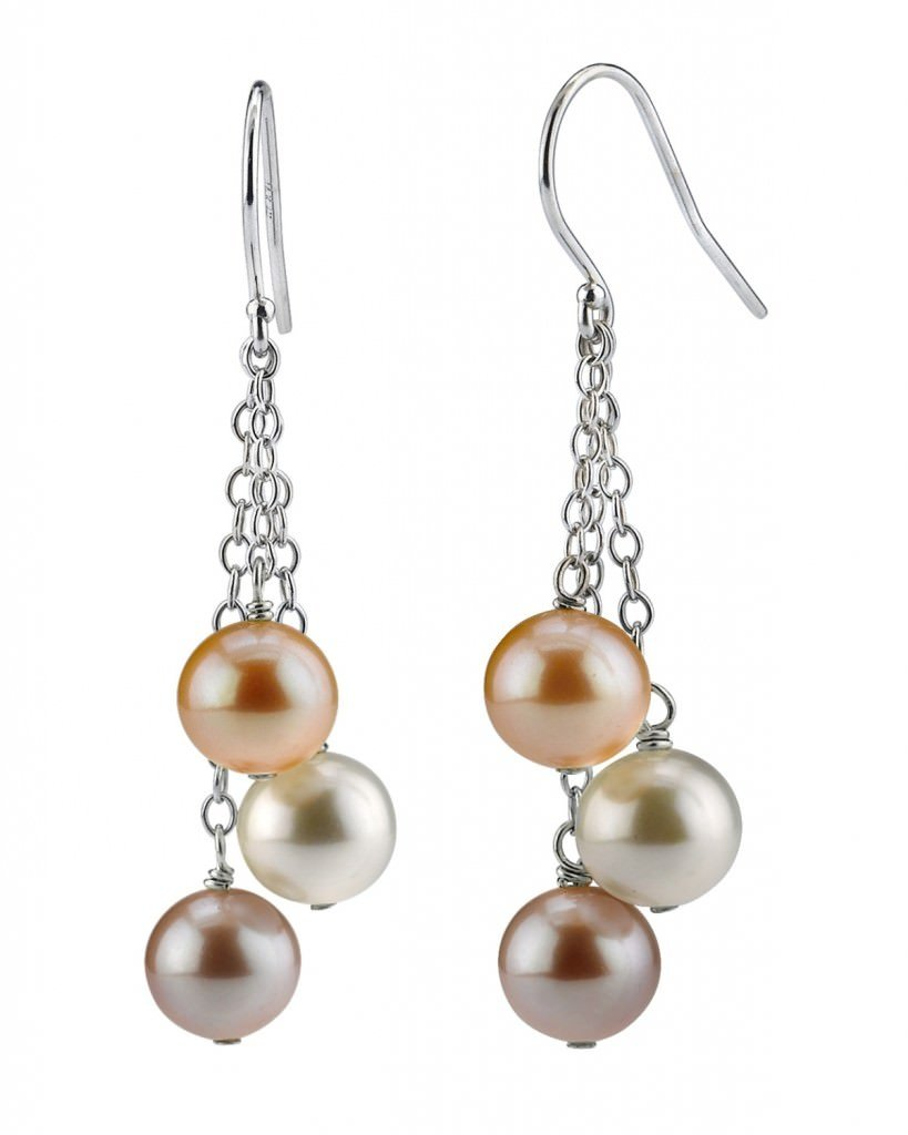 Fashion Accessory Trends: Freshwater Pearl Cluster Earrings