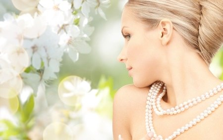 pearls and weddings