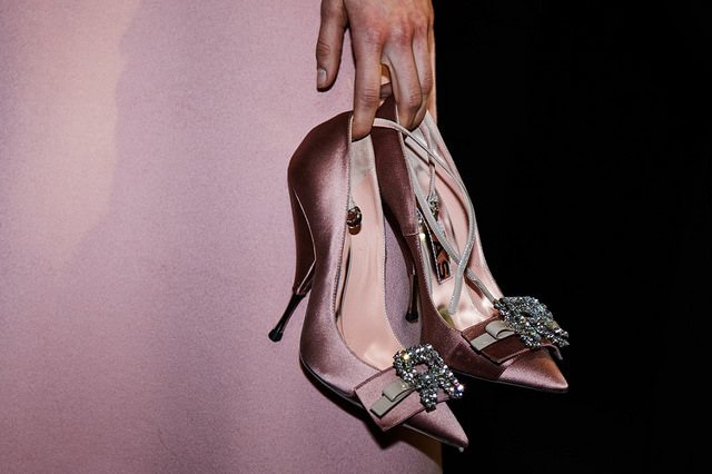 Check out these pink quartz AKA Tumblr pink pumps.