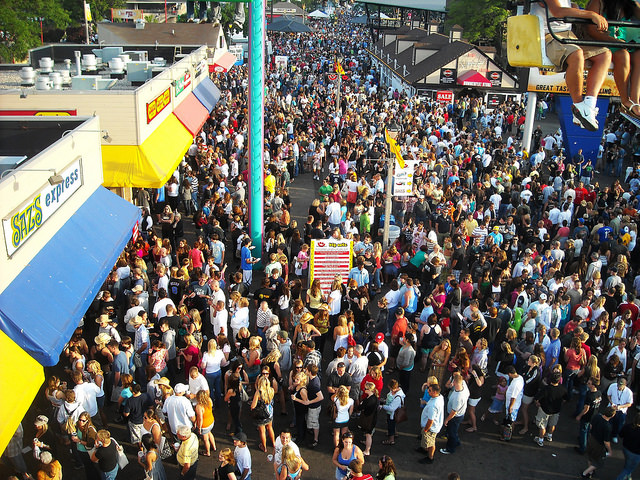 Summerfest 2017 is expected to attract about 900,000 people to the Milwaukee lakefront area.