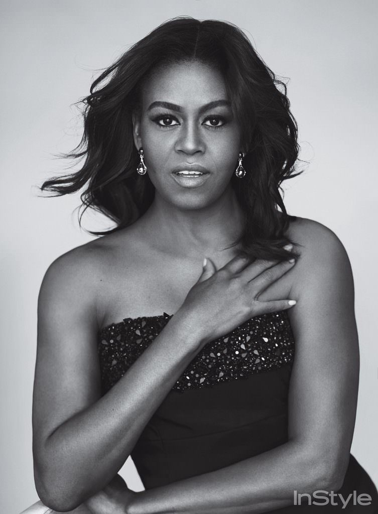 Former First Lady Michelle Obama is the epitome of HOT in this photo from Style (October 2016)