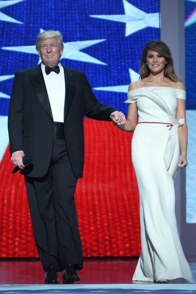 President Donald Trump & First Lady Melania Trump at the Inauguration Ball 2016