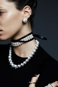 Your customers can quickly and securely purchase this gorgeous leather wrap and pearl choker from your online jewelry store using all-in-one credit card processing this holiday season.