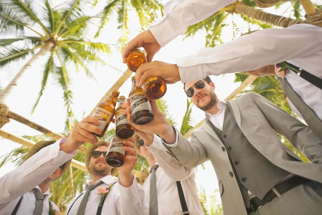 men Beach formal weddings