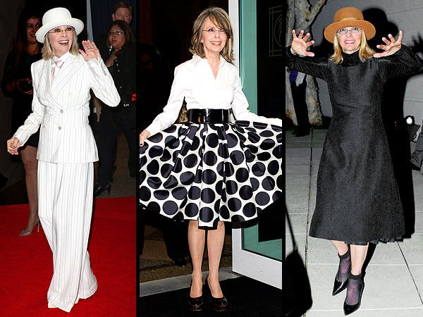 "71-Year-Old Diane Keaton Says These Pieces are ""Must-Haves"" for Fashionistas 60 and Over."