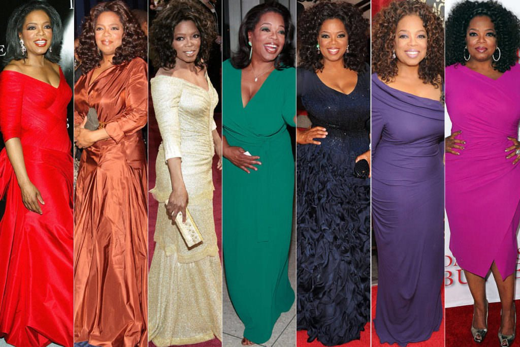 Oprah Winfrey is One Stylish 60s Something Woman with Many Different Looks.
