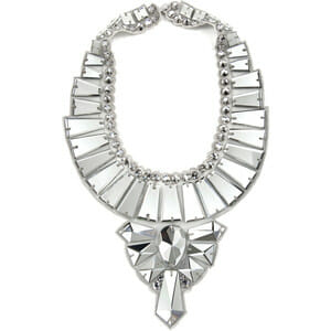 This Ranjana Khan Mirror Deco Necklace actually features numerous mirrors.