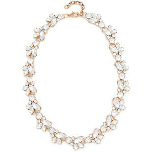 Stella & Ruby Crystal Cluster Statement Necklace