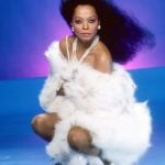 Even in her 70s, Diana Ross is sizzling hot in white fur and white pearls (and not much else).