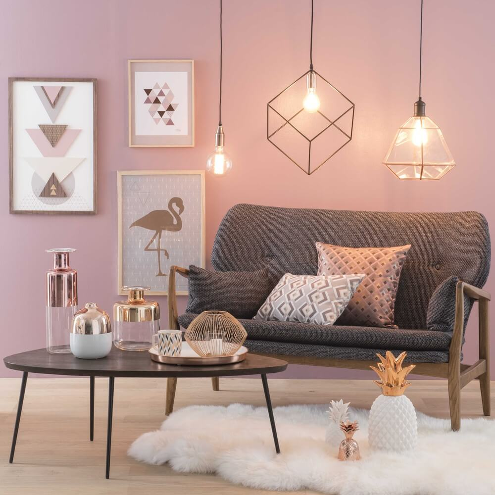 Blush & Copper Home Decor Trends for 2018