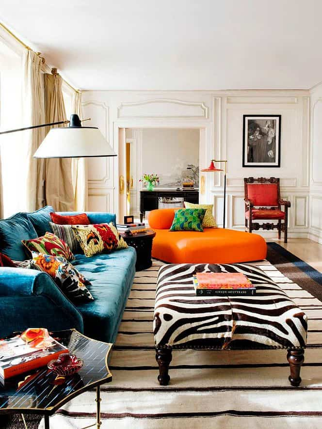 Bold Color Seating