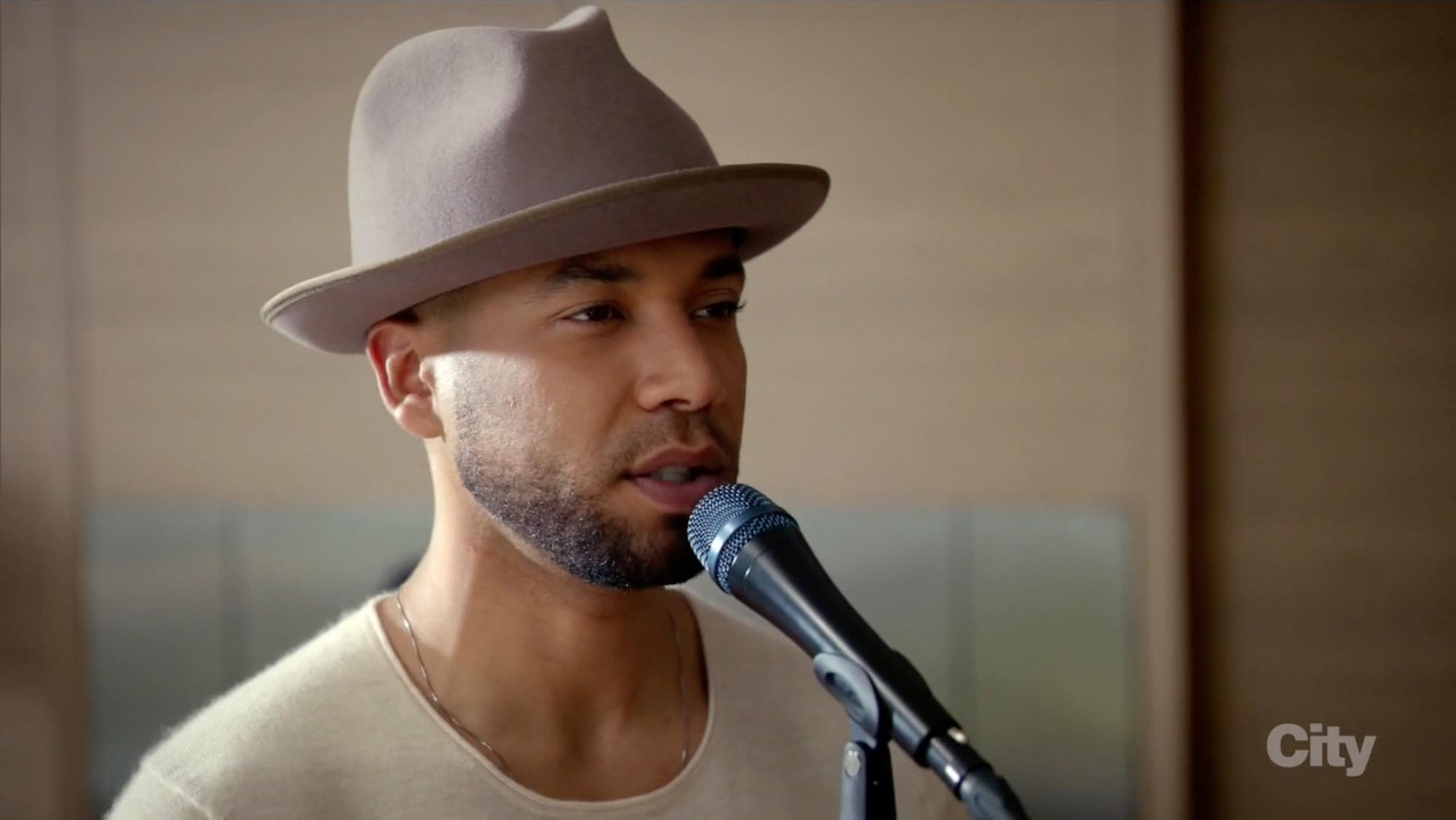 Jamal Lyon fedora hat