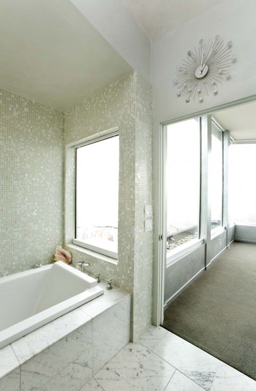 Mother of Pearl Bathtub Tiles