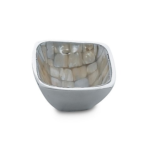 Mother of Pearl Bowl from Bed Bath and Beyond.