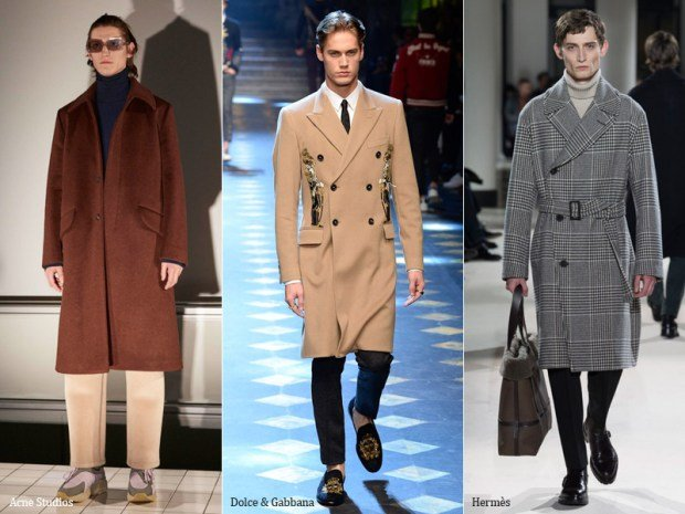 Straight MIDI Coats for Men.