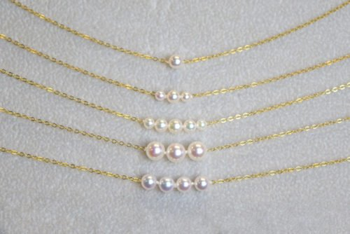 Add-A-Pearl Necklaces