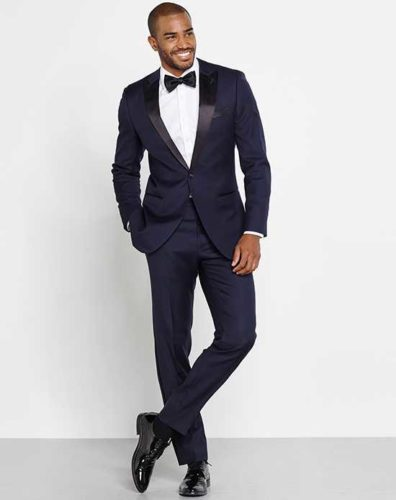Blue Wedding Tux from The Knot