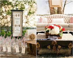 DIY-themed wedding decorations.