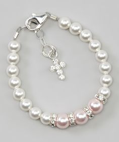Good Feng Shui Handmade Crystal and Pearl Bracelet