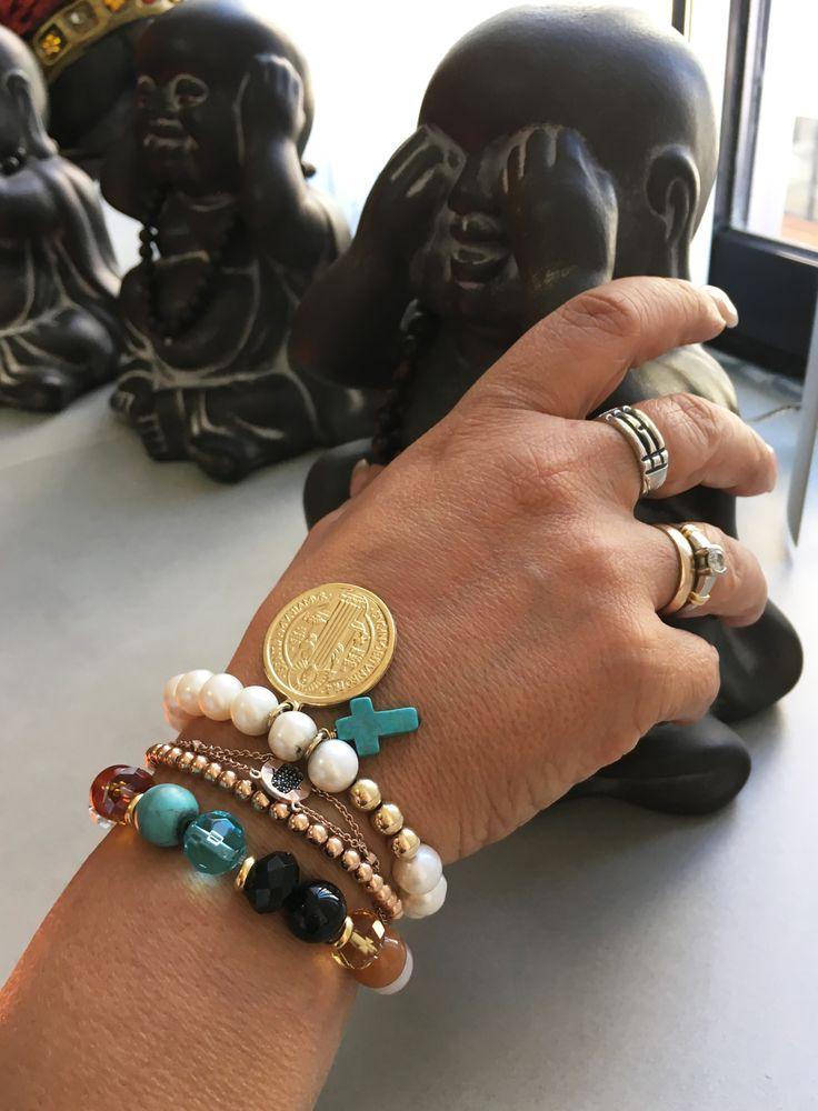 Good Feng Shui Stone & Pearl Bracelets