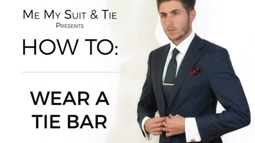 How to Wear a Tie Bar