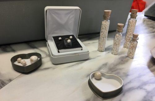McCavour's Rare Scallop Pearl Collection.