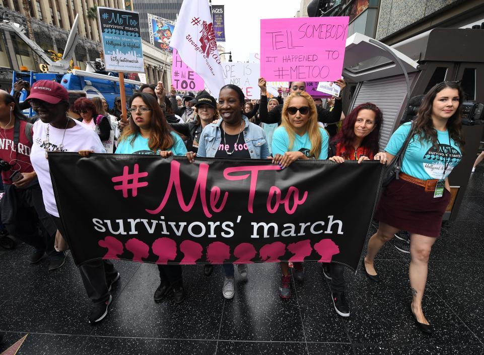 #MeToo Movement Survivors' March