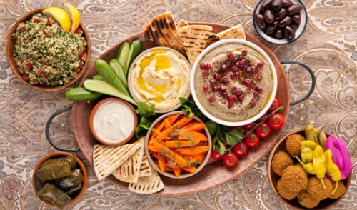 2018 Green Food Trends: Middle Eastern Foods