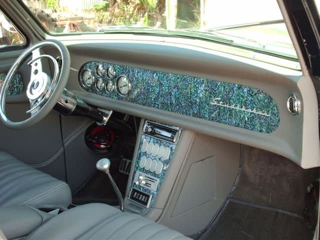 Mother of Pearl Veneer Decor for Autos