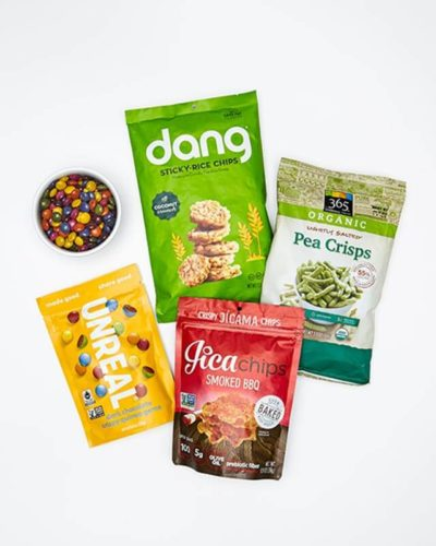 Popped and Puffed Snacks for Green Eaters