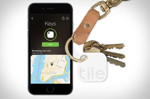 Tile Device Tracking App