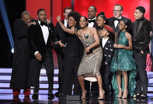 Black-ish took home multiple statues at the 2018 Image Awards And they looked good doing it.