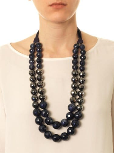 Huge Black Lugano Pearl Necklace
