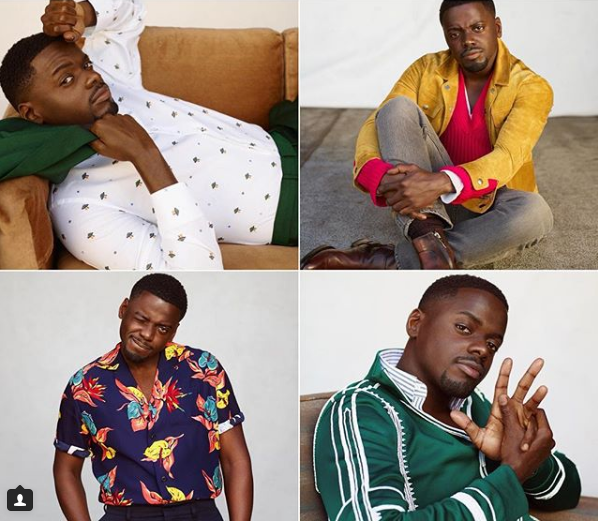 4 Fashion Sexy Shots of Daniel Kaluuya