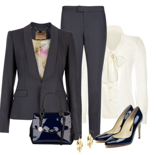 Blazers are still a professional choice of outerwear for professional Boss Ladies.