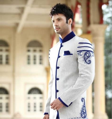 Indo-Western Fusion Sherwani for Men