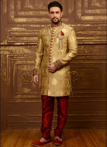 Indo-Western Sherwani for Weddings