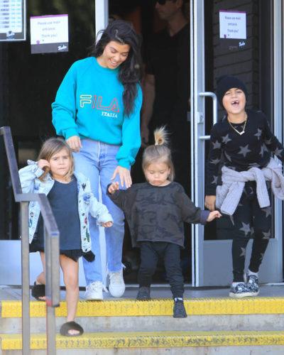 Single motherhood seems to suit Kourtney Kardashian just fine.