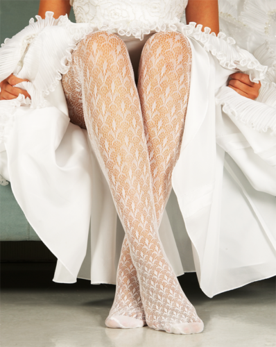 Paris Texture Bridal Tights