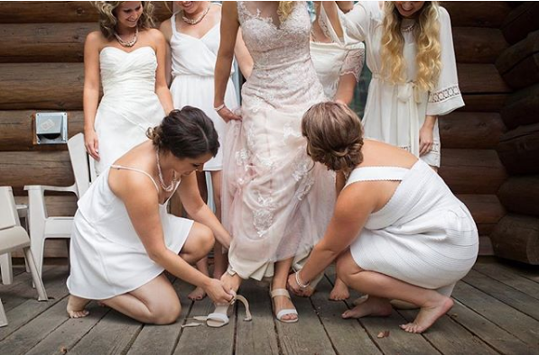 Your bridesmaids are the backbone of your wedding. Gift them accordingly.