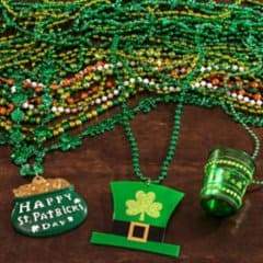 St. Patrick's Day Party Jewelry & Beads