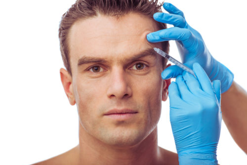 Botox is very popular with men who want to stay young looking.