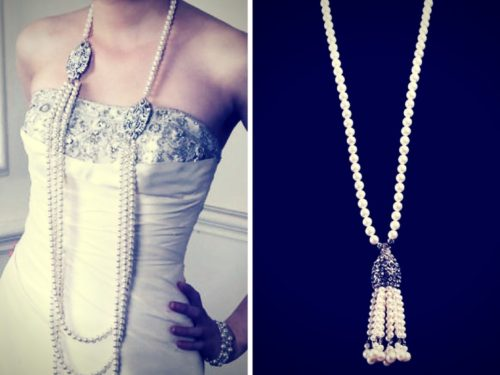 When it comes to spring and summer fashion accessories trends, long strands of pearls are always in season.