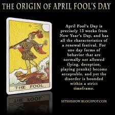 Origin of April Fool's