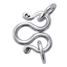 S Hook Jewelry Clasp