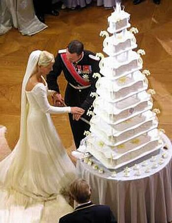 Charlene Wittstock's Royal Wedding Cake