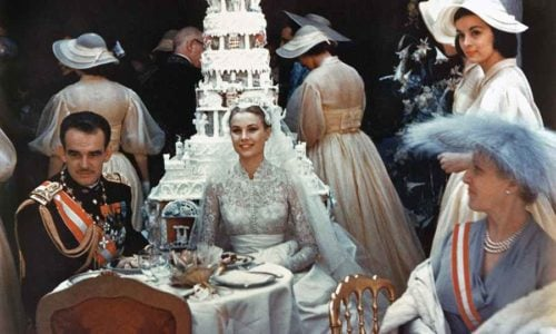 Grace Kelly's Wedding Cake