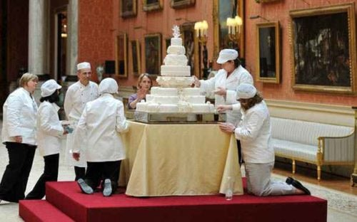 Kate Middleton's Wedding Cake Took a Team of People to Make