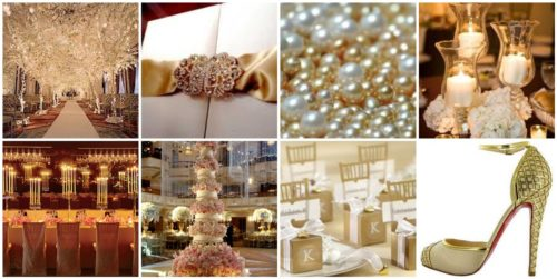 Pearl Wedding Theme Ideas